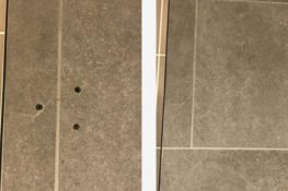 tile hole repair